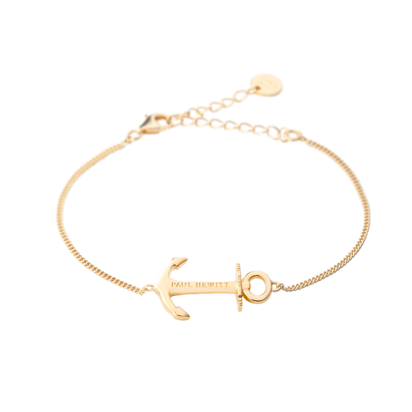 Paul Hewitt Anchor Spirit Gold Bracelet