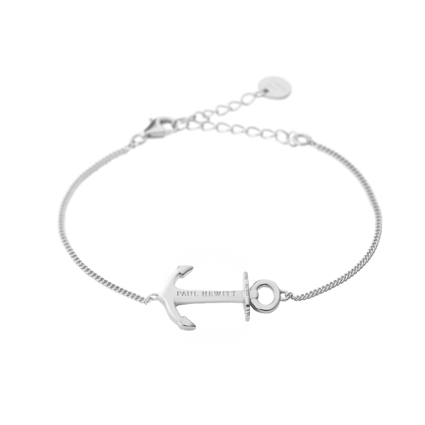 Paul Hewitt Anchor Spirit Silver Bracelet