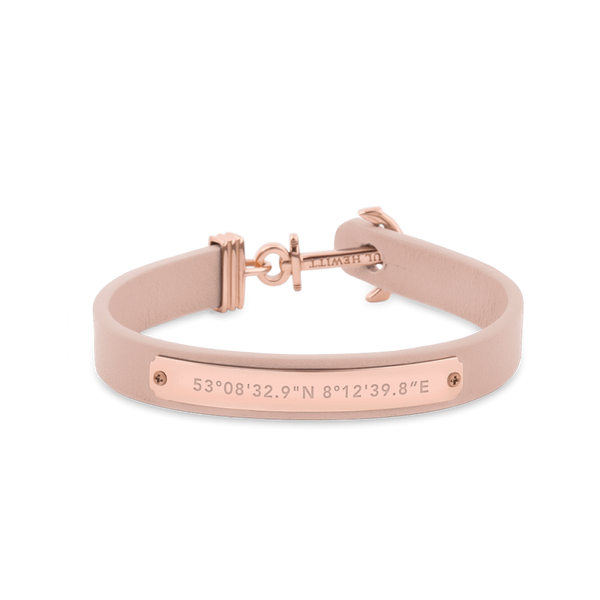 Paul Hewitt Signum Female Coordinates Rose Gold / Nude Bracelet
