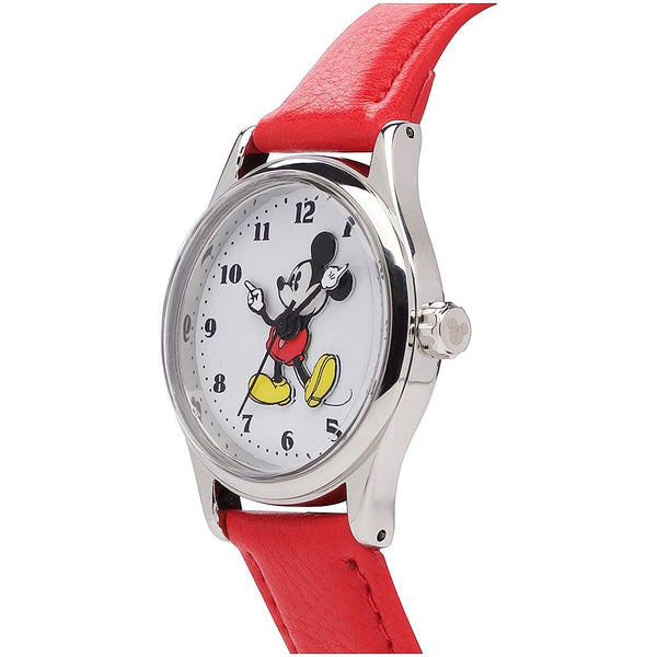 Disney Original Mickey 34mm Red Watch
