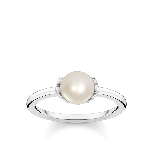 Thomas Sabo Ring Pearl Star