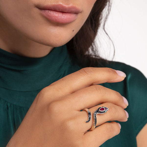 Thomas Sabo Ring Snake