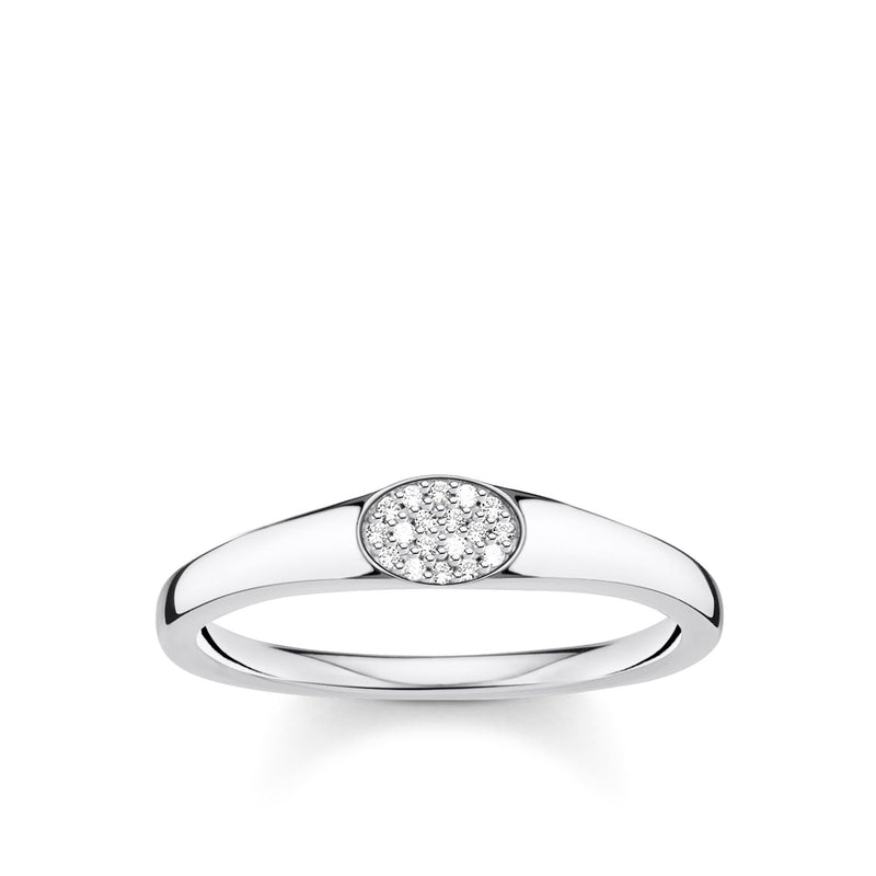 Thomas Sabo Ring White Stones