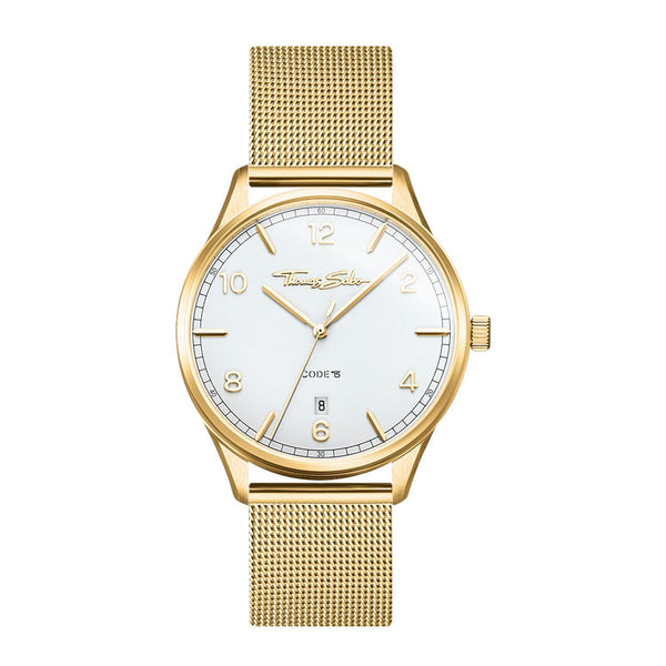 Thomas Sabo Women's Watch Code TS Small Yellow Gold