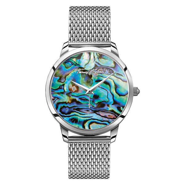 Thomas Sabo Unisex Watch Arizona Spirit Abalone Mother-of-pearl Large