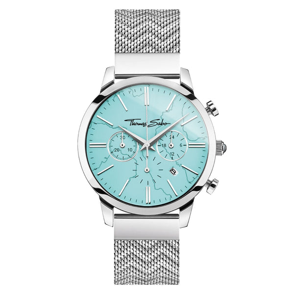 Thomas Sabo Men's Watch Chronograph Arizona Spirit Turquoise