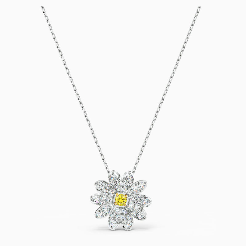 Swarovski Eternal Flower Pendant - Yellow
