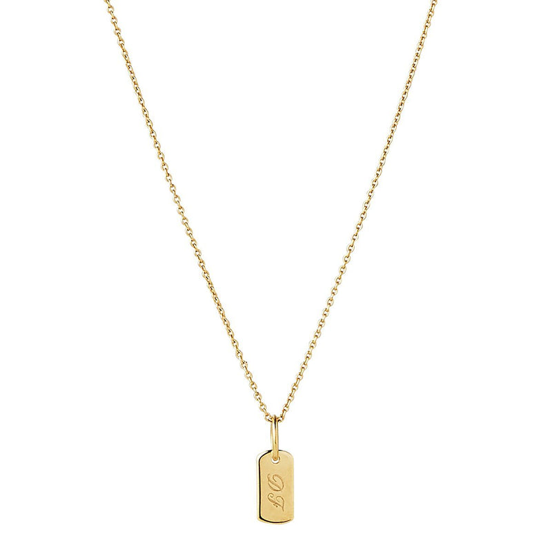 Najo Neptune Yellow Gold Necklace 9kt