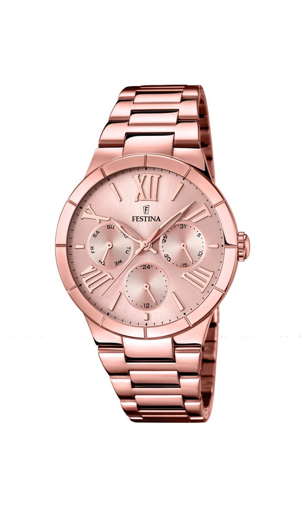 Festina Mademoiselle Pink Dial Watch