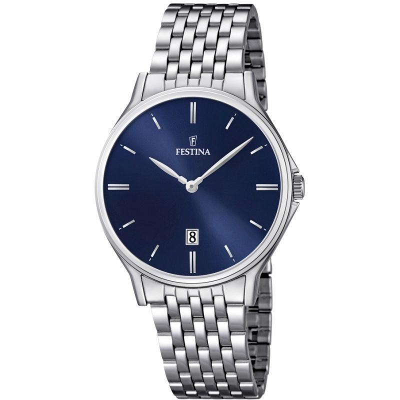 Festina Classic Metal Blue Watch