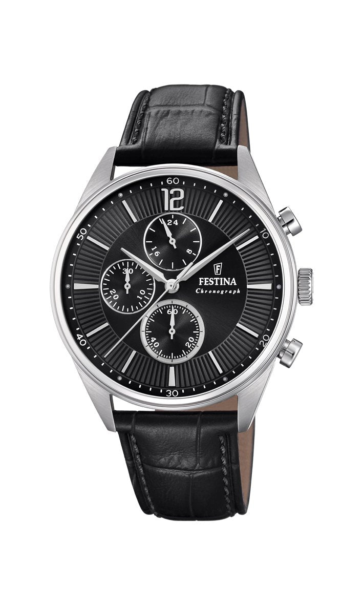 Festina Timeless Chrono Black Watch