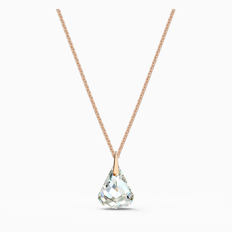 Swarovski Rose Gold Spirit Pendant - White