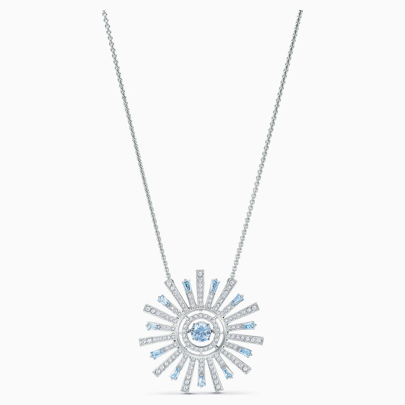 Swarovski Sunshine Necklace - Blue