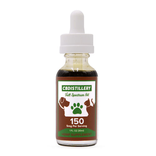 150mg CBD Oil for Pets - Full Spectrum Tincture