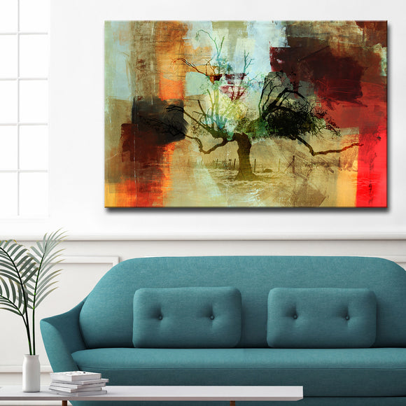 Ready2HangArt 'Abstract Landscape II' Oversized Canvas Wall Art