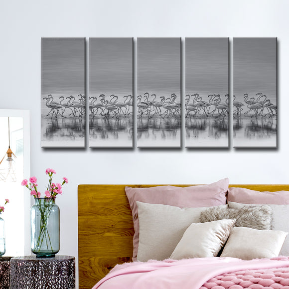 Ready2HangArt 'Comrades' 5-Pc Canvas Wall Décor Set