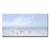 Ready2HangArt 'Flamingos I' Canvas Wall Décor