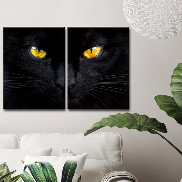 Ready2HangArt 'The Hypnotist of the Night' 2-Pc Canvas Wall Décor Set