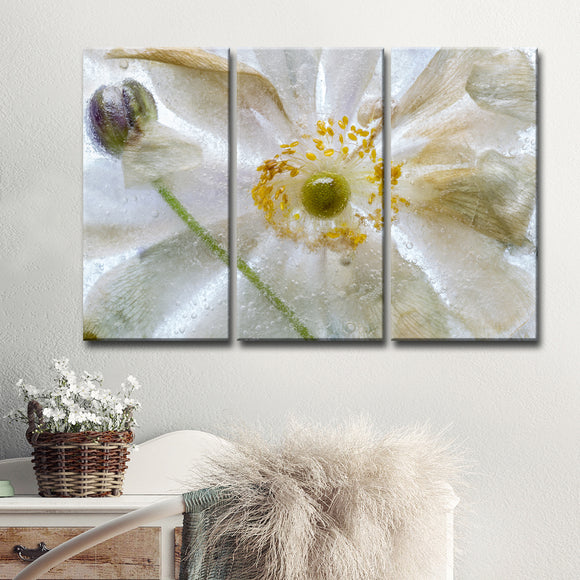 Ready2HangArt 'Floral Freeze' 3-Pc Canvas Wall Décor Set