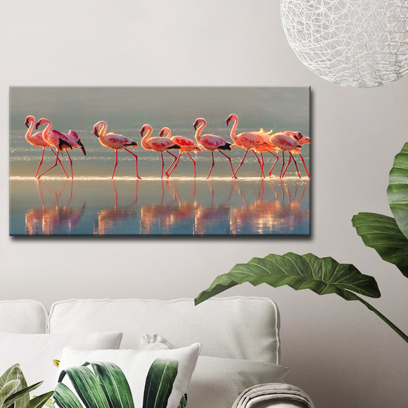 Ready2HangArt 'Flamingo' Canvas Wall Décor