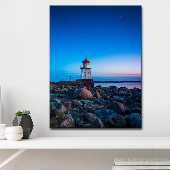 Ready2HangArt 'Lighthouse' Wrapped Canvas Wall Décor