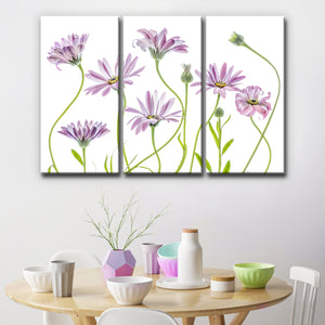Ready2HangArt 'Cape Daisies I' 3-Pc Canvas Wall Décor Set