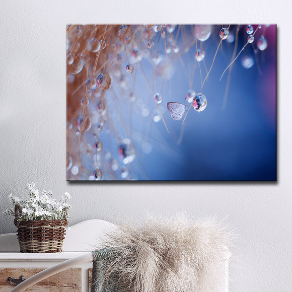 Ready2HangArt 'Droplets' Wrapped Canvas Wall Décor