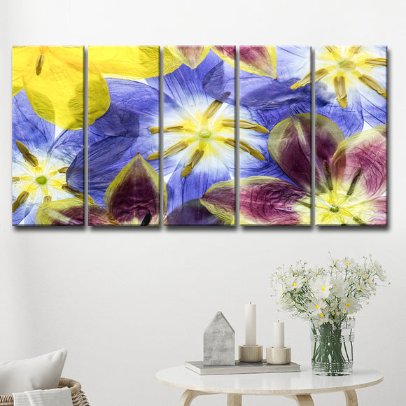 Ready2HangArt 'Tulips I' 5-Pc Canvas Wall Décor Set