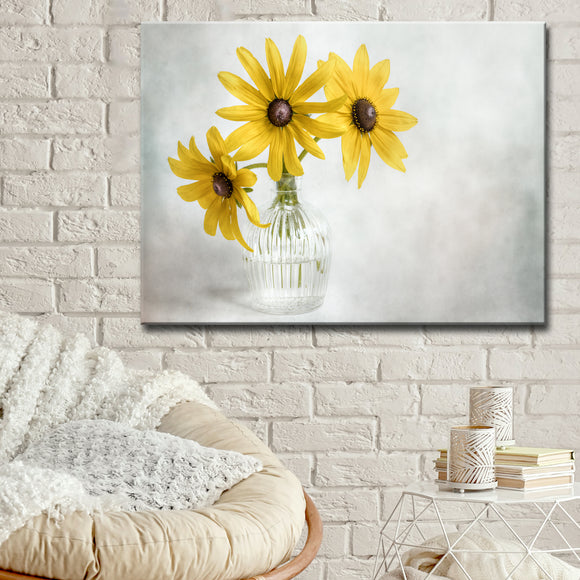 Ready2HangArt 'Rudbeckia' Canvas Wall Décor