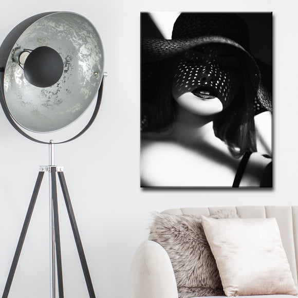 Ready2HangArt 'White Dots' Canvas Wall Décor