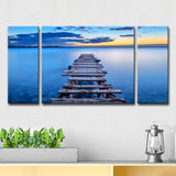 Ready2HangArt 'Pier' 3-Pc Canvas Wall Décor Set