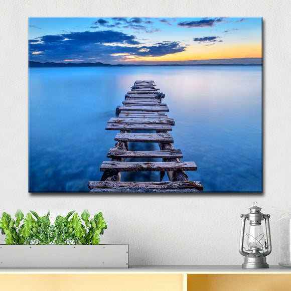 Ready2HangArt 'Pier' Wrapped Canvas Wall Décor