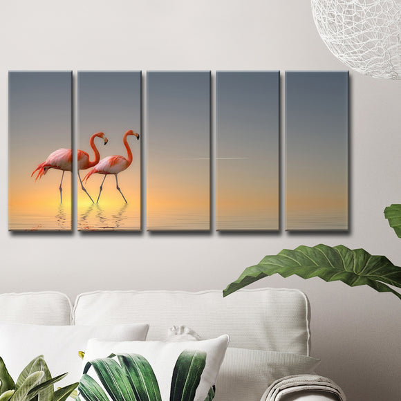 Ready2HangArt 'Serenity II' 5-Pc Canvas Wall Décor Set