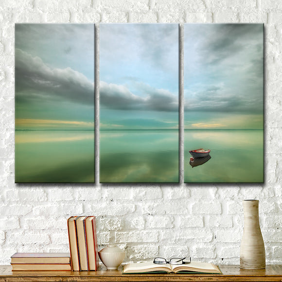 Ready2HangArt 'Calm' 3-Pc Canvas Wall Décor Set