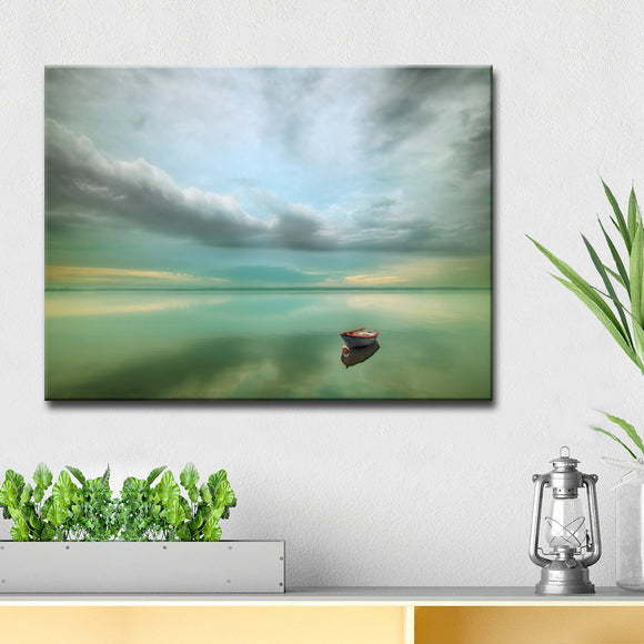 Ready2HangArt 'Calm' Wrapped Canvas Wall Décor