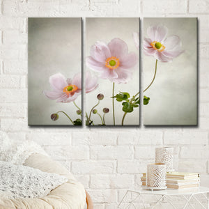 Ready2HangArt 'Anemones' 3-Pc Canvas Wall Décor Set