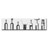 Ready2HangArt 'Bottle's Game' Wrapped Canvas Wall Décor