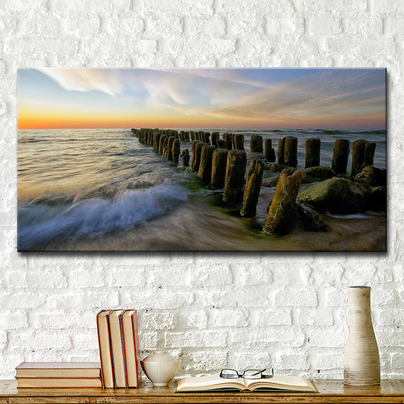 Ready2HangArt 'Baltic' Wrapped Canvas Wall Décor