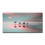 Ready2HangArt 'Family Flamingos' Canvas Wall Décor