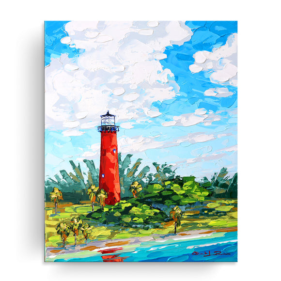 Bahama Relief 'Bright Light' Canvas Coastal Wall Art