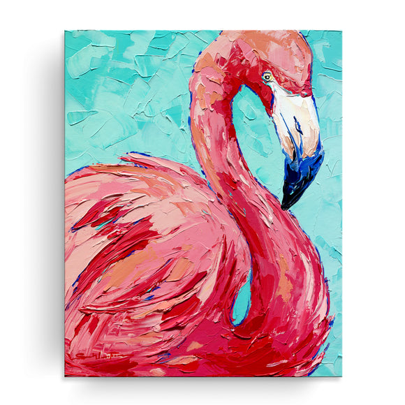 Bahama Relief 'Pretty in Pink' Canvas Coastal Wall Art