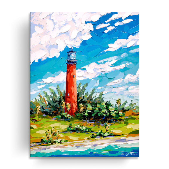 Bahama Relief 'Jupiter Guardian' Canvas Coastal Wall Art