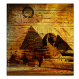 Ready2HangArt 'Egyptian Pyramid' Canvas Wall Art