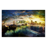 Ready2HangArt 'Brooklyn Bridge' Canvas Wall Art