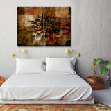 Ready2HangArt 'Daisy' Abstract Canvas Wall Art