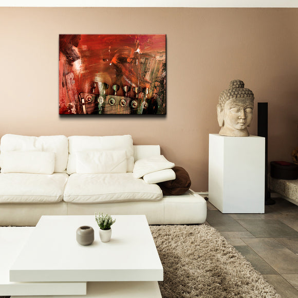 'In Tune' Canvas Wall Art