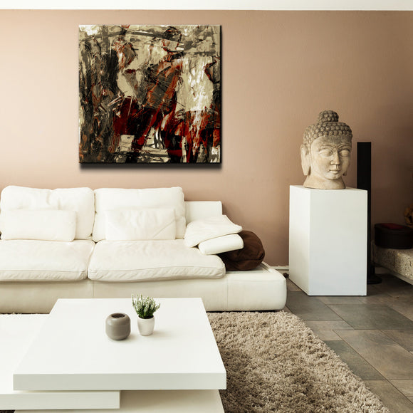 'Concerto' Oversized Canvas Wall Art