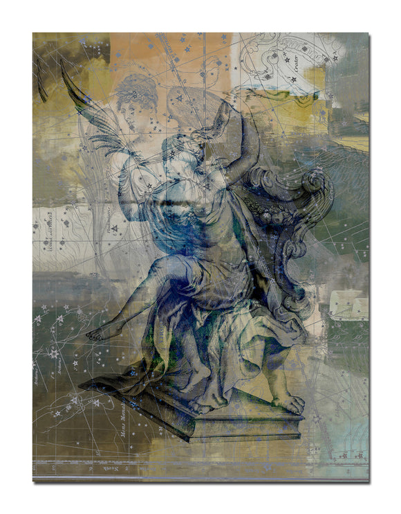 Ready2HangArt 'Zodiac Study: Virgo' Oversized Canvas Wall Art