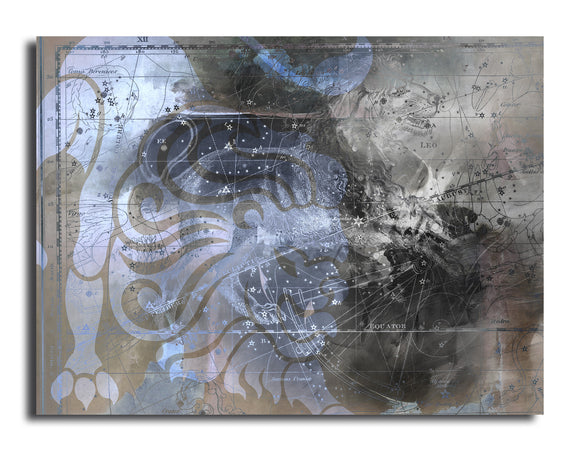 Ready2HangArt 'Zodiac Study: Leo' Oversized Canvas Wall Art