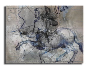 Ready2HangArt 'Zodiac Study: Sagittarius Oversized Canvas Wall Art